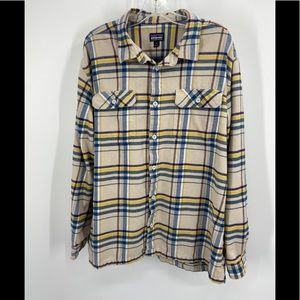 PATAGONIA Fjord Flannel Long Sleeve Shirt XL